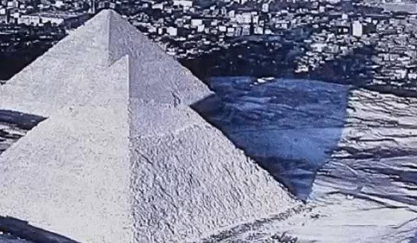 Ägypten Schnee